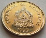 Moneda 20 Centavos de Lempira - HONDURAS, anul 1999 *cod 1235 UNC, America Centrala si de Sud