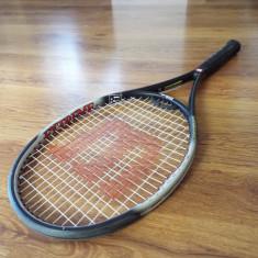 Racheta tenis Wilson Extreme Titanium - Racheta tenis de camp Wilson, SemiPro, Adulti, Grafit/Titanium
