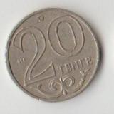Moneda 20 tenge 2000 - Kazakhstan, Asia