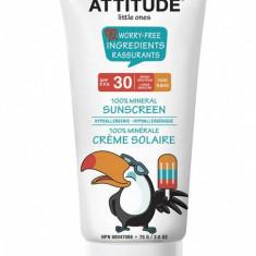 Lotiune Bio protectie solara Attitude, SPF 30, 75 gr