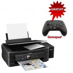 Imprimanta inkjet Epson L486 cu sistem CISS, A4, USB, Wi-Fi