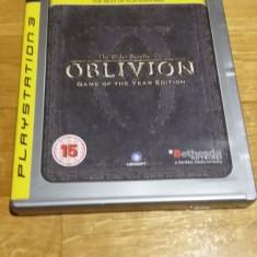 PS3 Oblivion The elder scrolls 4 GOTYE Platinum - joc original by WADDER - Jocuri PS3 Bethesda Softworks, Role playing, 16+, Single player