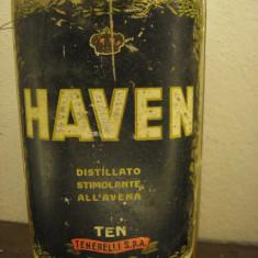 HAVEN tenerelli, distillato di avena, seal metal,clip,cc 1000 gr. 43 ani 1947/49