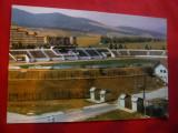 Ilustrata - Stadionul- Cetate Alba Iulia , Romania, Necirculata, Fotografie