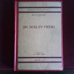 Nicolae Berdiaev Un nou Ev Mediu - Carte Filosofie