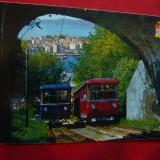 Ilustrata 2 Tren- Funiculare Norvegia, Necirculata, Printata