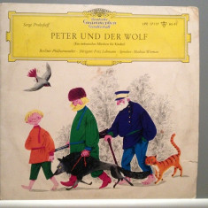PROKOFIEFF - PETER and WOLF (1965/Deutsche Grammophone/RFG) - VINIL/RAR - Muzica Clasica deutsche harmonia mundi