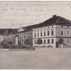 #1998- Romania, Szaszvaros, Broos, Orastie, c.p. circ. 1915: Cazarma - Carte Postala Transilvania 1904-1918, Circulata, Fotografie