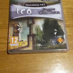 PS3 ICO & Shadow of the Colossus HD / 3D compatible - joc original by WADDER - Jocuri PS3 Sony, Actiune, 12+, Single player