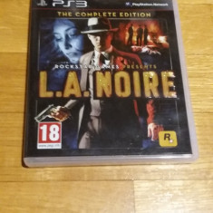 PS3 L.A. Noire The complete edition - joc original by WADDER - Jocuri PS3 Rockstar Games, Actiune, 18+, Single player