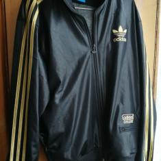Bluza de trening primavara Adidas mar. M - Hanorac barbati, Marime: M, Culoare: Negru