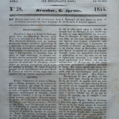 Gazeta de Transilvania, Brasov, nr. 28, 6 Aprilie, 1844 - Ziar