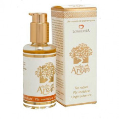 Ulei cosmetic de argan eco 100 ml Longevita