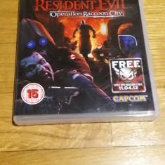 PS3 Resident evil Operation Raccoon city - joc original by WADDER - Jocuri PS3 Capcom, Actiune, 16+, Single player
