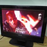 Tv lcd UNITED 48 cm 19 inch la 12v auto incarcator HDMI televizor led