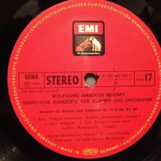 MOZART -Concert for piano no 21 & 23 - BARENBOIM (1967/EMI/RFG) -VINIL/Impecabil - Muzica Clasica emi records