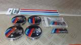 Set embleme M/// BMW de grila, porbagaj din metal,JANTE ALIAJ