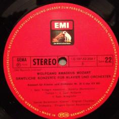 MOZART -Concert for piano no 25/24 - D.BARENBOIM (1967/EMI/RFG) -VINIL/Impecabil - Muzica Clasica emi records