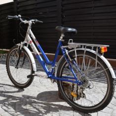 Bicicleta dhs silver de oras - Bicicleta de oras DHS, 26 inch, Numar viteze: 10