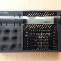 RADIO Siemens RK 712 G6 World Band Receiver/FM Stereo, LW, MW, SW - Aparat radio
