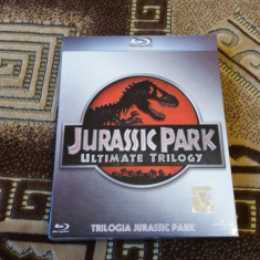 Trilogia JURASIC PARK bluray originala cu romana - Film actiune Odeon