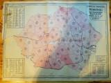 Harta 1930 romania mare recensamant judete