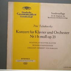 Tschaikowsky - Concert for piano no 1 (1964/Deutsche Grammophon Rec/RFG) - VINIL, deutsche harmonia mundi