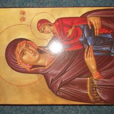 ICOANA - FECIOARA CU PRUNCUL ISUS - Litografie