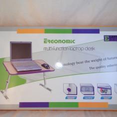 E-table Masa / Masuta Laptop Cooler si picioare de Aluminiu