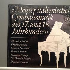 Master of Italian Harpsichord: Scarlatti/Pasquini...(1973/ORBIS REC/RFG) - VINIL - Muzica Clasica Columbia