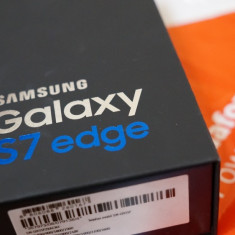 Galaxy S7 EDGE Black NOU Nedesfacut Garantie 24luni Vodafone - Necodat - Telefon Samsung, Negru, 32GB, Neblocat, Single SIM