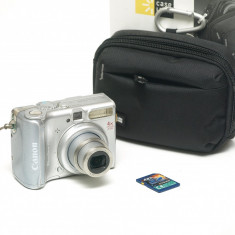 Canon PowerShot A540 + husa noua +card SD - Aparat Foto compact Canon