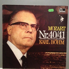 Mozart - Symphony no 40/41 with Karl Bohm (1969/Fontana Rec/Germany) - VINIL/RAR - Muzica Clasica emi records