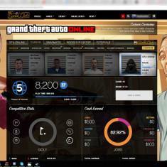 Cont GTA V - GTA 5 PC Rockstar Games