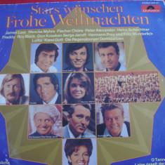 A(01) vinil-STARS WUNSCHEN FROHE WEIHNACHEN - Muzica Ambientala Altele