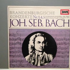 Bach -Brandenburg Concertos no 3/4/5 (1971/Miller rec/RFG) - VINIL - Muzica Clasica Altele
