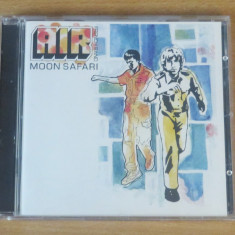 AIR - Moon Safari CD (1998) - Muzica Chillout virgin records