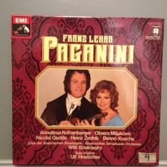LEHAR - PAGANINI -2LP BOX Deluxe(1977/EMI-ELECTROLA/RFG) - VINIL/Impecabil/Rar - Muzica Clasica emi records