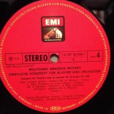 MOZART -Concert for piano no 5 & 6 - D.BARENBOIM (1967/EMI/RFG) -VINIL/Impecabil - Muzica Clasica emi records