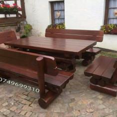 Mobilier rustic de terasa gradina - Mobila terasa gradina