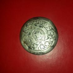 Capac ceas vechi, posibil din argint, diametru 28 mm, cititi descrierea