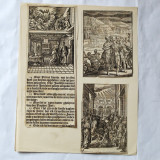 Christoffel van Sichem II - 3xilogravuri 1657 - Pictor strain, Religie, Cerneala, Realism