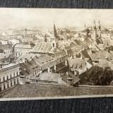 Sibiu-vedere generală, veche, Necirculata, Printata