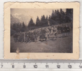 Bnk foto - Vanatori de munte - aproximativ 1940, Alb-Negru, Militar, Romania 1900 - 1950