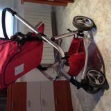 Carucior copii 2 in 1, Rosu