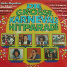 A(01) vinil-DIE GROSSE KARNEVALS HITPARASE - Muzica Ambientala Altele