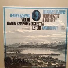 Brahms - Violin Concert D-dur, op 77 (1974/Philips/RFG) - VINIL/Impecabil/Rar - Muzica Clasica universal records