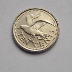 10 CENTS 2000 BARBADOS -UNC, Australia si Oceania