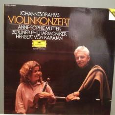 Brahms - Violin Concert D-dur, op 77 (1982/Polydor rec/RFG) - VINIL/Impecabil/Rar - Muzica Clasica universal records