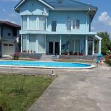 Vila Snagov-Ghermanesti, P+E+M, 390mp, teren3016mp, 100mde lac Snagov si 5min.A3, DN1 - Casa de vanzare, Numar camere: 5